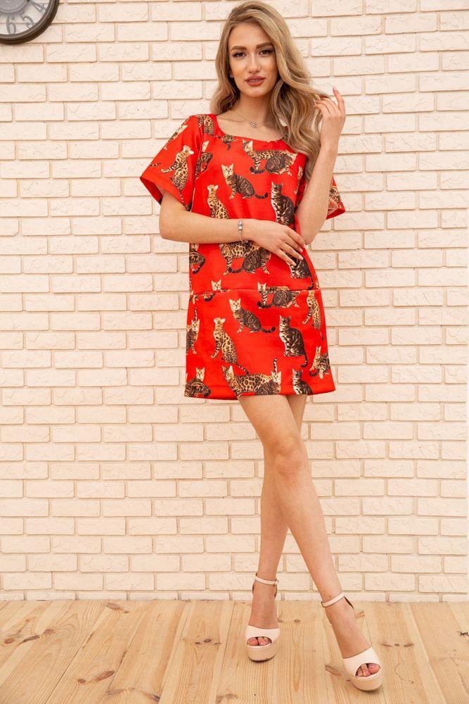 Сукня 167R1638 колір Червоний