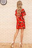 Сукня 167R1638 колір Червоний, фото 3
