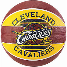 Мяч баскетбольный Spalding NBA Team Cleveland Cavs Size 7
