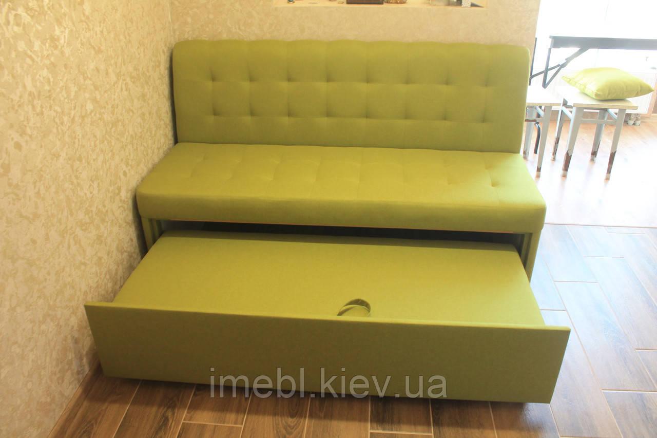 Кухонний диван зі спальним місцем (Салатовий)