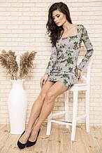Сукня жіноча 102R150 колір Сірий