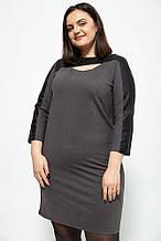 Сукня 102R082 колір Темно-сірий
