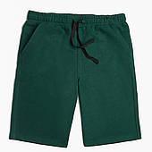 Шорты для мальчика Без принта (No print) Lacoste Темно-зеленый