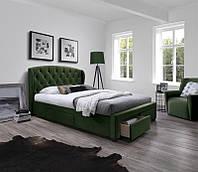 Ліжко SABRINA 160 зелений Halmar