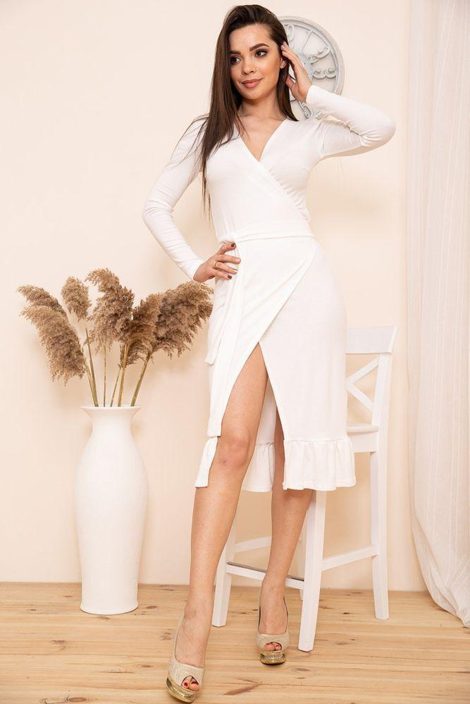 Платье 167R7-3 цвет Молочный
