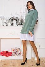 Сукня 102R132 колір Оливковий