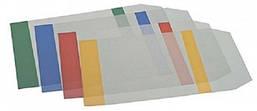 Обложка для книг с клапаном ZiBi Kids Line прозрачная с цветными полями 75 мкм
