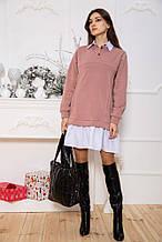 Сукня 102R132 колір Пудровий