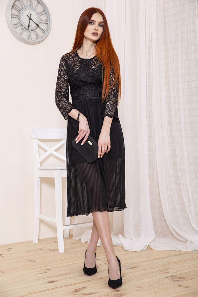 Платье женское 115R398 цвет Черный