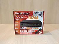 Уценка! World Vision T624A цифровой эфирный ресивер DVB-T/Т2/C