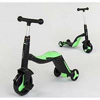 Самокат беговел велобег велосипед детский best scooter 3 В 1 JT 40405 мелодии свет