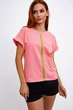 Футболка женская 102R057 цвет Розовый