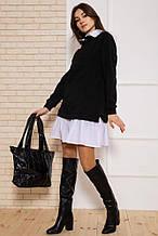 Сукня 102R132 колір Чорний