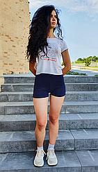 Женские шорты фитнес Эластик