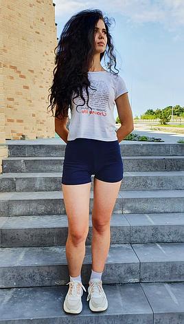 Женские шорты фитнес Эластик, фото 2