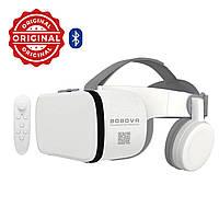 Оригинальные! Очки виртуальной реальности белые BoboVr Z6 3D 110° с Наушниками и Пультом ДУ