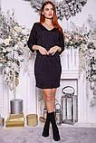 Сукня жіноча 115R169 колір Чорний, фото 2
