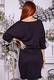 Сукня жіноча 115R169 колір Чорний, фото 4