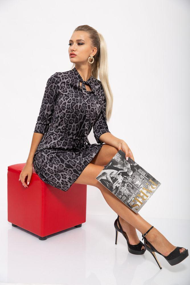 Сукня жіноча 112R485-3 колір Сірий