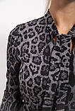 Сукня жіноча 112R485-3 колір Сірий, фото 4