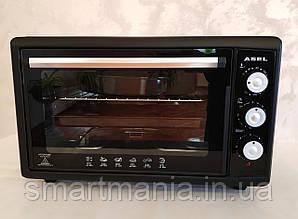 Духовка электрическая печь ASEL AF-50-23 Black 50L