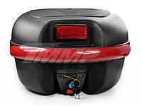 Кофр багажник пластиковый  (38,5*34*26см) с шлемом