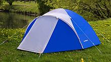 Кемпинговая туристическая палатка 2-х местная для отдыха на природе Presto Acamper ACCO 2 PRO синяя 3000мм