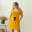 Женские платья больших размеров  50-56 пудра, фото 6