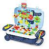 УЦЕНКА! Ігровий набір конструктор в валізі на колесах PAZZLE interest toy 137 деталей, фото 4