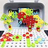УЦЕНКА! Ігровий набір конструктор в валізі на колесах PAZZLE interest toy 137 деталей, фото 6