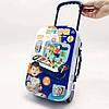 УЦЕНКА! Ігровий набір конструктор в валізі на колесах PAZZLE interest toy 137 деталей, фото 7