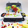 УЦЕНКА! Ігровий набір конструктор в валізі на колесах PAZZLE interest toy 137 деталей, фото 8