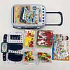 УЦЕНКА! Ігровий набір конструктор в валізі на колесах PAZZLE interest toy 137 деталей, фото 10