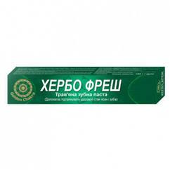 Хербофрэш зубная паста Golden Chakra, 100 грамм