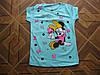 Детская футболка Мини для  девочек . 5- 6 лет Турция хлопок