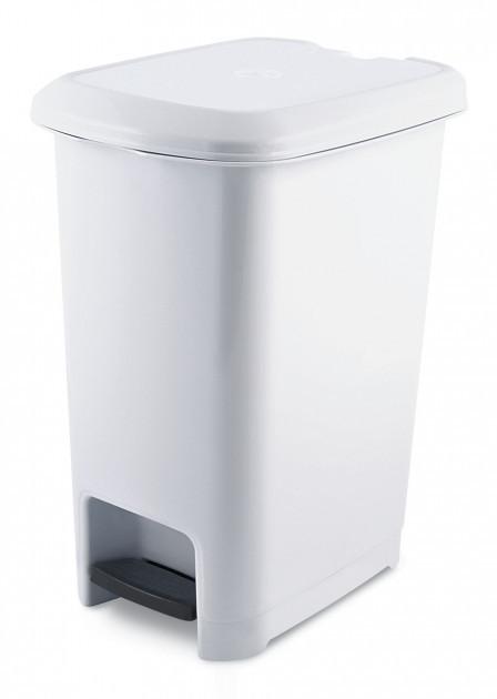 Бак для мусора с педалью Ucsan Plastik M-1050-Grey 10 л серый
