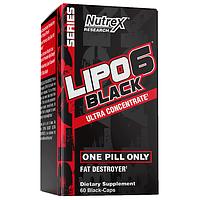 Жіросжігателя Nutrex Lipo-6 Black Ultra Concentrate 60 капсул