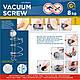 Тримач для фену на вакуумному шурупе Tatkraft Vacuum Screw Henry 10642, фото 2