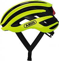 Велошлем спортивный Abus Airbreaker неон желтый, S (51-55 см), фото 1