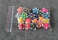Цветы акриловые витые 20 мм/20 шт