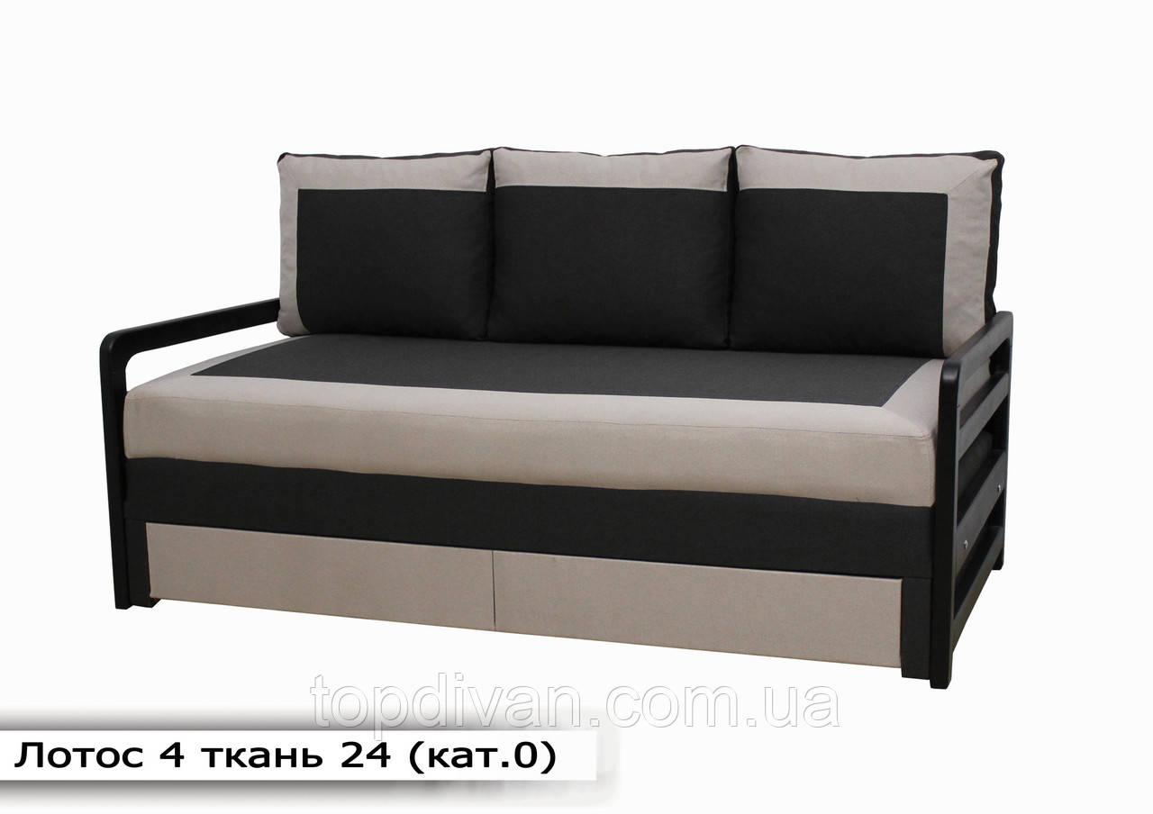 """Диван """"Лотос 4"""". 190 см тканини 24"""