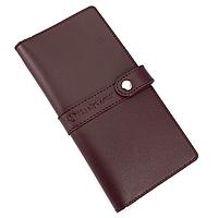 Кошелек женский кожаный большой Handycover HC0078 бордовый, фото 1