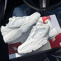 Женские кроссовки New Balance 452 White | Нью Беланс 452 Белые