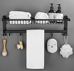 Полиця-вішалка для ванної кімнати. Модель RD-0459