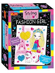 Набір для творчості. String ART. Fashion girl (Ранок)