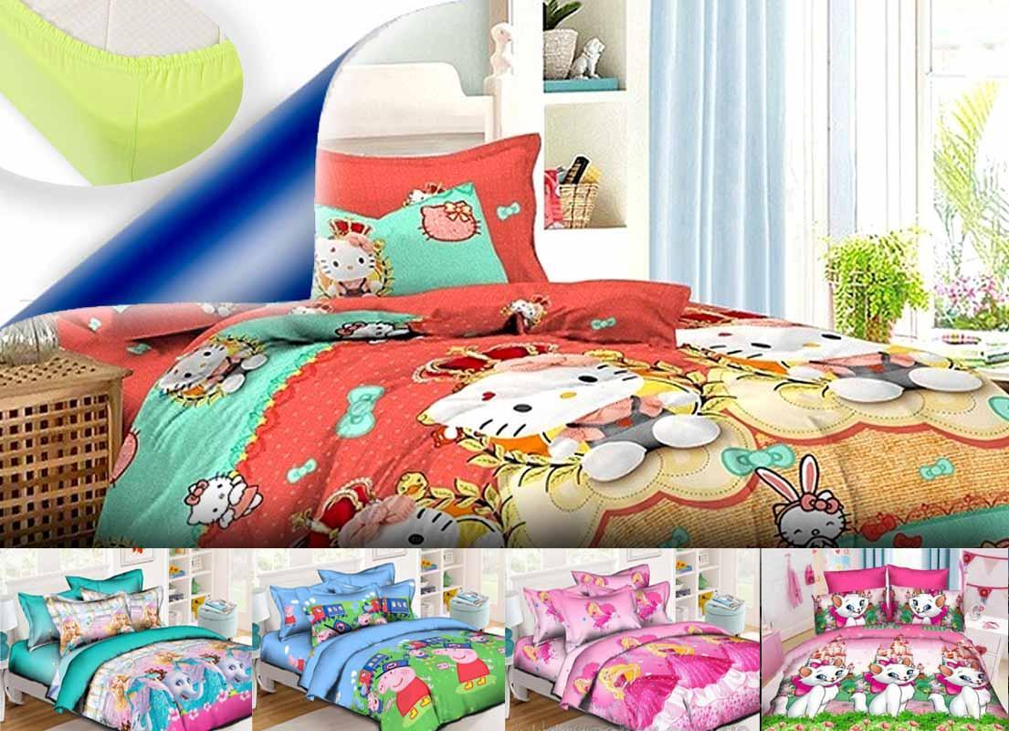 Комплект постельного белья (1.5) на резинке. Ранфорс
