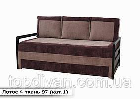 """Диван """"Лотос 4"""". 190 см в ткани 1 категории (ткань 97)"""