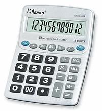 Калькулятор KENKO KK-1048 великий настільний професійний бухгалтерський