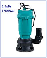 Насос канализационный 1500Вт H23м Q375л/мин Aquatica дренажный фекальный садовый полива и откачки ям септиков