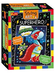 Набір для творчості. String ART. Superhero (Ранок)